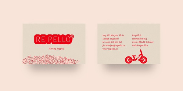 Re pello business cards